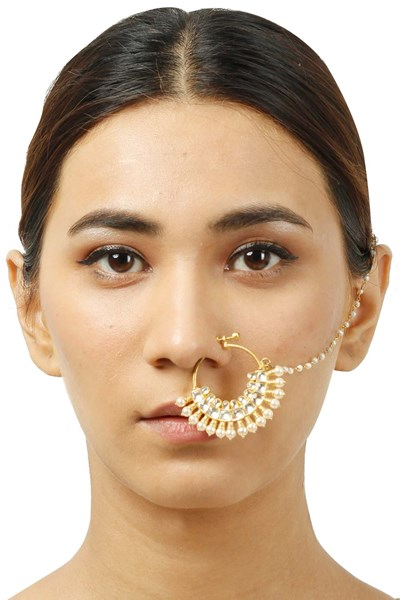 37-Jewellery-design-Gold-plated-crystal-pearl-nath