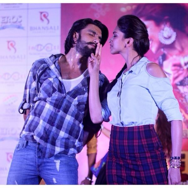Adorable Pictures Of Deepika And Ranveer- Performing together