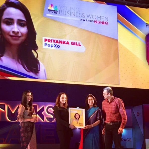 1-priyanka-gill-won-CNBC-young-business-woman-awards-2018
