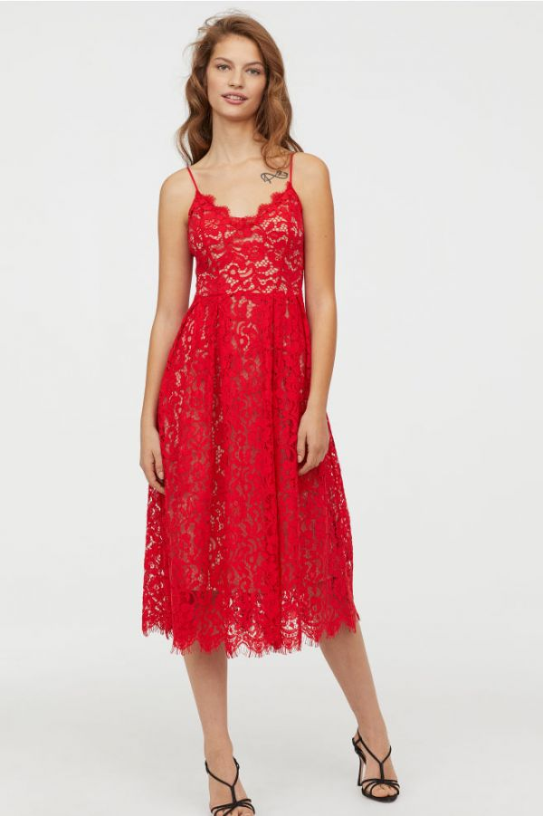 5-bright-red-lace-dress-hm