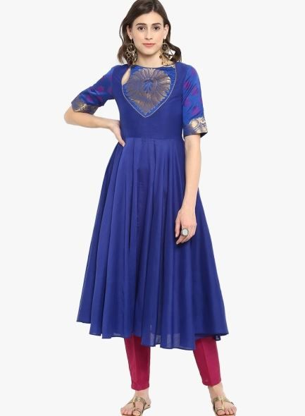 abhishti-blue-suit-with-pants-what-to-wear-for-first-lohri-after-wedding