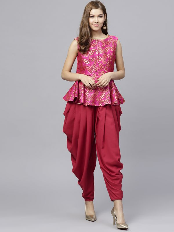 inddus-top-dhoti-pants-what-to-wear-for-first-lohri-after-wedding