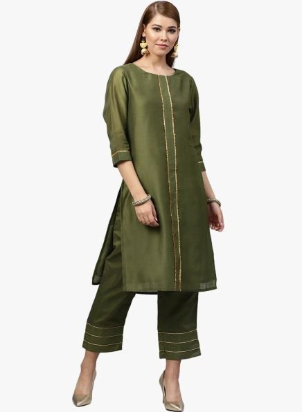 juniper-green-suit-with-pants-what-to-wear-for-first-lohri-after-wedding