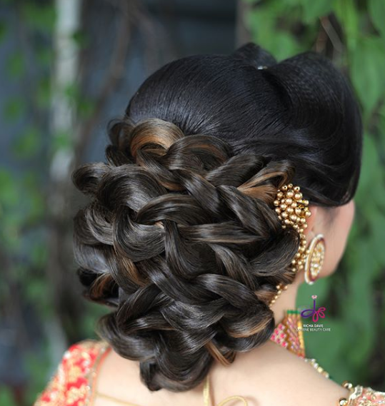 Bridal Hairstyles Ideas For Reception 2019 Trendy