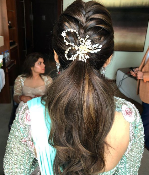 reception-hairstyles-ponytail