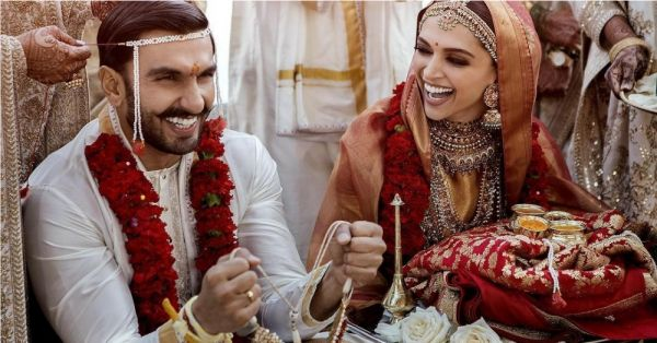 FB deepika padukone ranveer singh wedding picture instagram