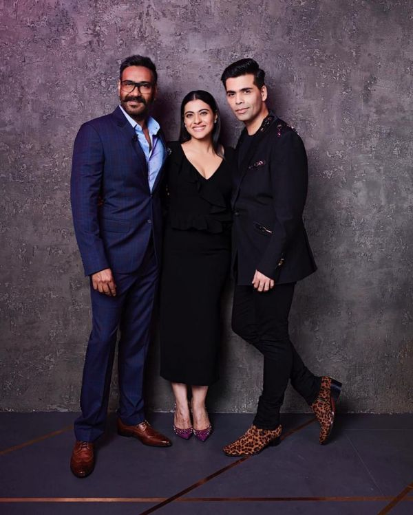 deepveer friends in india - karan johar