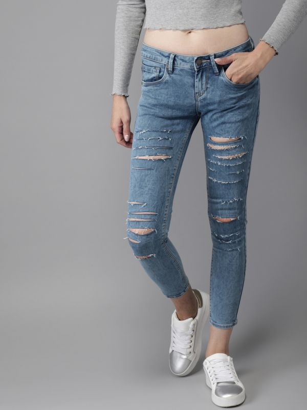 3-malaika-arora-khan-Blue-Skinny-Fit-Mid-Rise-Highly-Distressed-Stretchable-Ankle-Length-Jeans