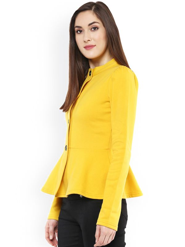 Yellow-peplum