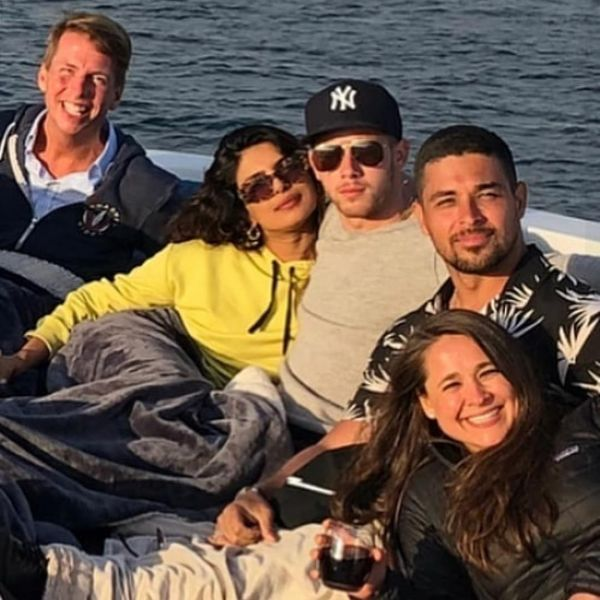 Priyanka And Nick's Love Story- Yacht party
