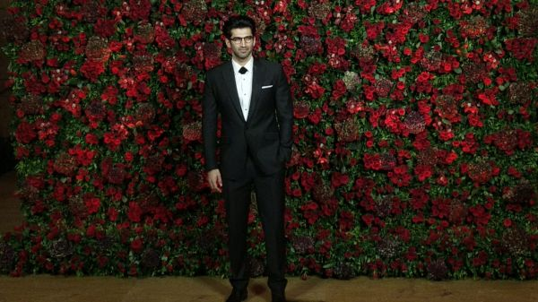 Bollywood celebs at deepveer reception - aditya roy kapoor