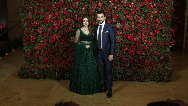 Bollywood celebs at deepveer reception - dia mirzajpeg