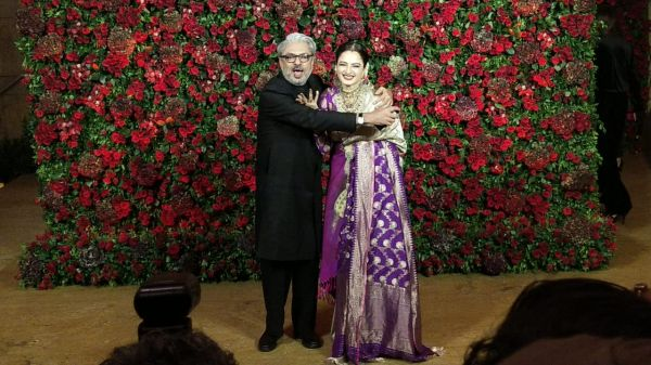 Bollywood celebs at deepveer reception - sanjay lela bhansali and rekha.jpeg