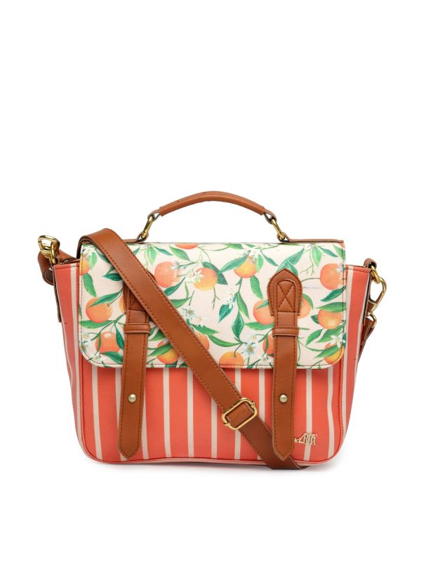 5-pantone-colour-of-the-year-Coral-Off-White-Printed-Satchel