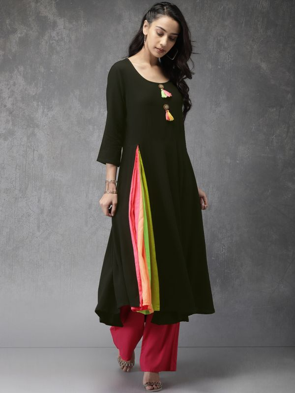 5-neck-designs-for-kurtis-Anarkali-Kurti