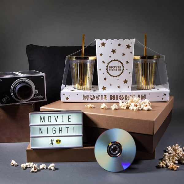 28 valentine's day gift for boyfriend - Movie Night Set