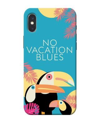 valentine's day - NO VACATION BLUES PHONE COVER