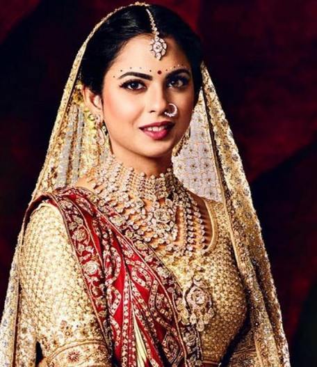 isha-ambani-bridal-makeup