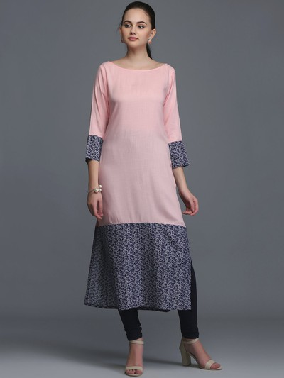neck-designs-for-kurtis-Boat-Neck