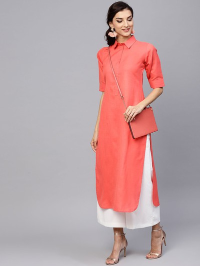neck-designs-for-kurtis-Shirt-Collar