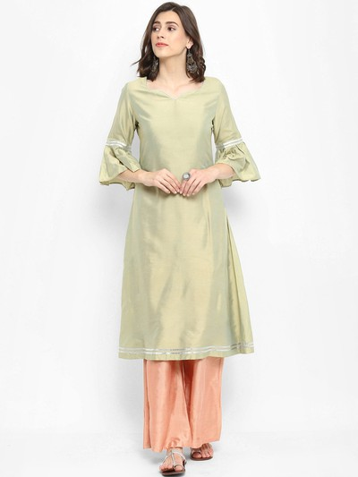 neck-designs-for-kurtis-Sweetheart-Neck