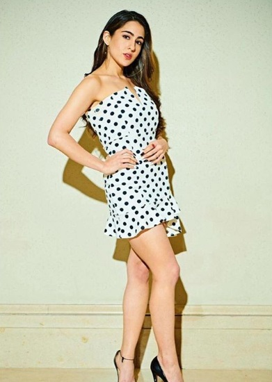 2-Sara-Ali-Khan's-Polka-Dress-Makes-Us-Wish-It-Was-Summer-Again