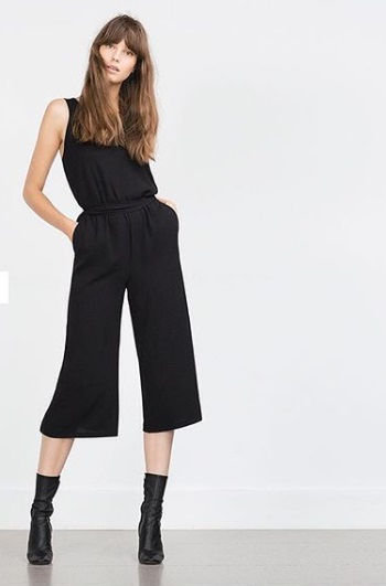 1-How-To-Wear-Jumpsuits-Cropped Jumpsuit