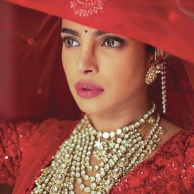 Priyanka Indian Bridal look