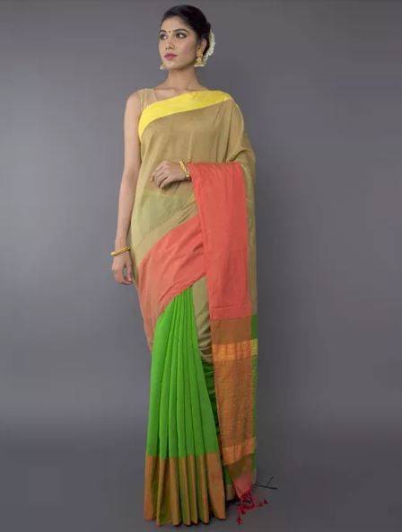 1-farewell-dresses-colourful-saree-jaypore