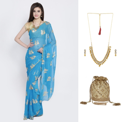 14-farewell-dresses--how-to-style-a-blue-saree