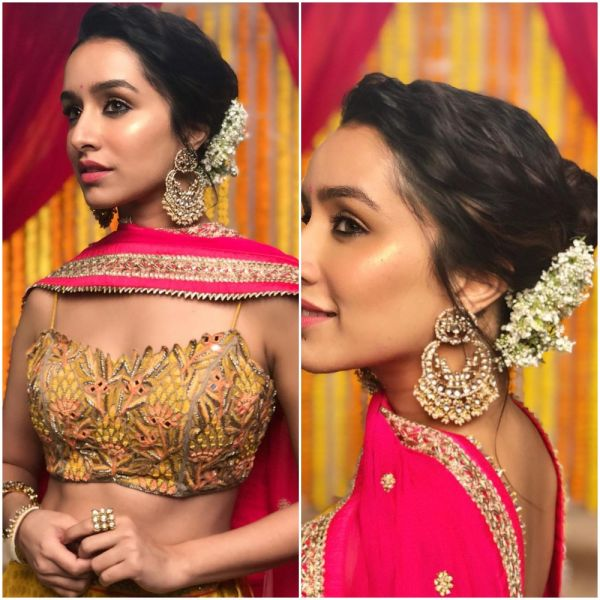cellebrity-inspired-hairstyles-bridesmaids-shraddha-kapoor