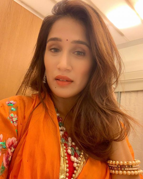 Sagarika Ghatge Has A Super Strong Selfie Game- Orange