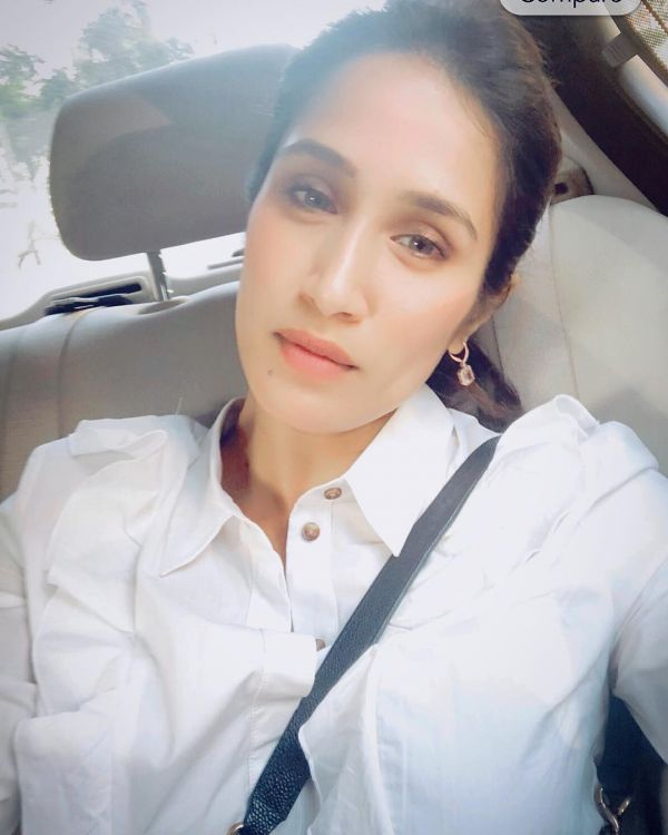 Sagarika Ghatge Has A Super Strong Selfie Game- White shirt