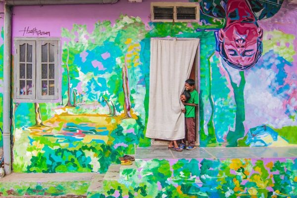 5-what to do in hyderabad-Maqtha-art-district