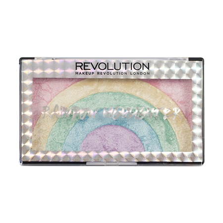 Makeup revuotion highlighter rainbow 2019