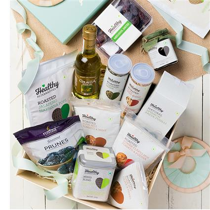 12. Gifts for father - Wholesome Snacking - Gift Hamper - 1 Pc