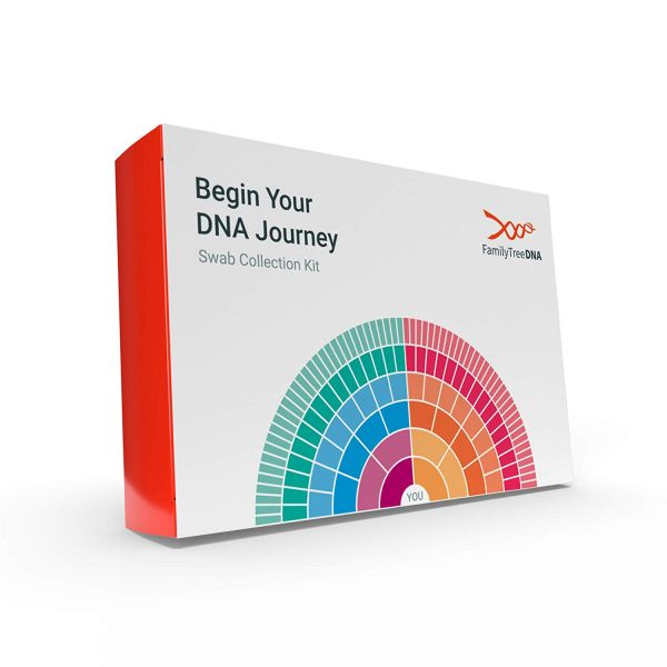 37 gifts for father - Family Tree DNA Genetic Ancestry Test Kit