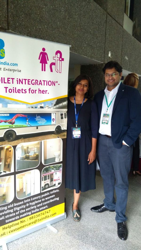 5 Meet Ulka Sadalkar  The Woman Who Is Make Bharat Swachh One Toilet At A Time - mobile toilet