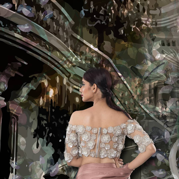 27-naked-3d-flowers-saree-blouse-back-design.