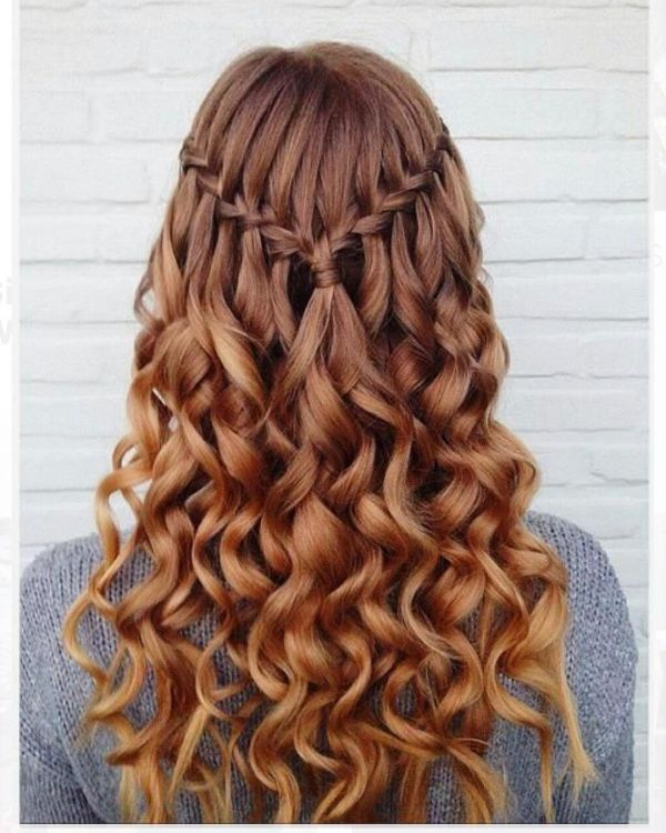 6 beauty industry buzz words and industry terms -  waterfall braids
