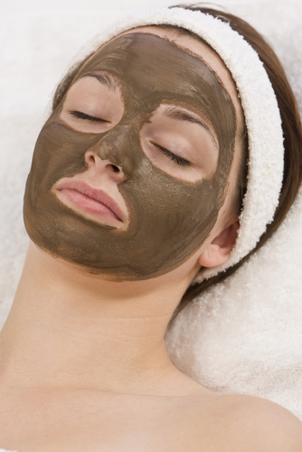 9 beauty industry buzz words and industry terms - girl sleeping with her face mask on