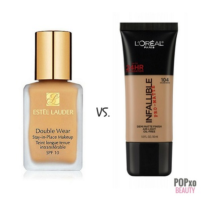 foundation dupes estee lauder loreal infalliable