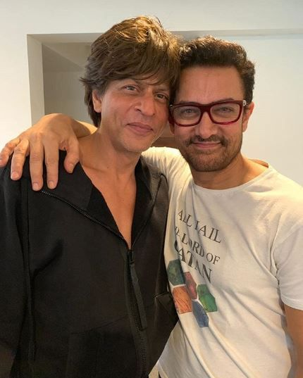 Aamir Khan and SRK