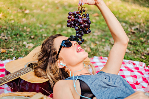 2 Beauty   Health Benefits Of Grapes For Skin And Hair