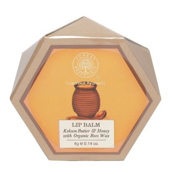 9 lbest balms  Forest Essentials Unisex Kokum Butter   Honey Lip Balm with Organic Beeswax