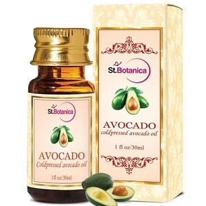 10 carrier and essential oils - st botanica avocado oil