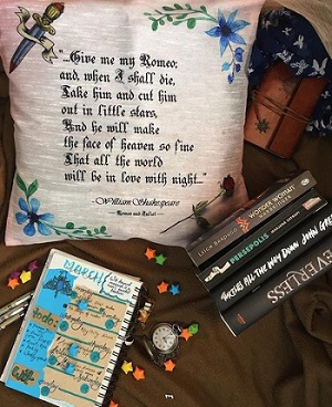Gifts For Booklovers- bookish cushion