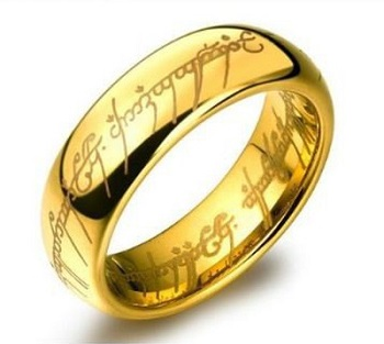 Gifts For Booklovers- lord of the rings ring