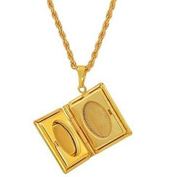 Gifts For Booklovers- vintage necklace