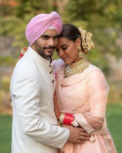 Angad Bedi Neha Dhupia Wedding